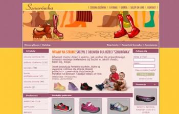 Sklep z obuwiem dla dzieci